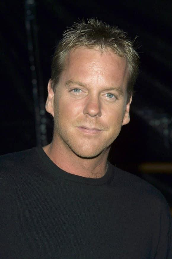 "Kiefer Sutherland played ""Jack Bauer"" on ""24"""