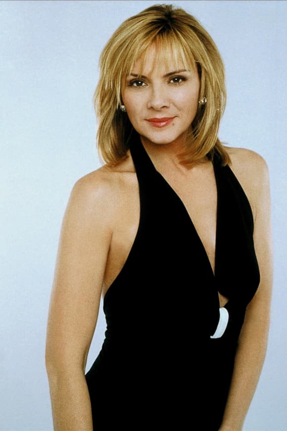 Kim Cattrall en una imagen promocional de la serie 'Sex and the City'