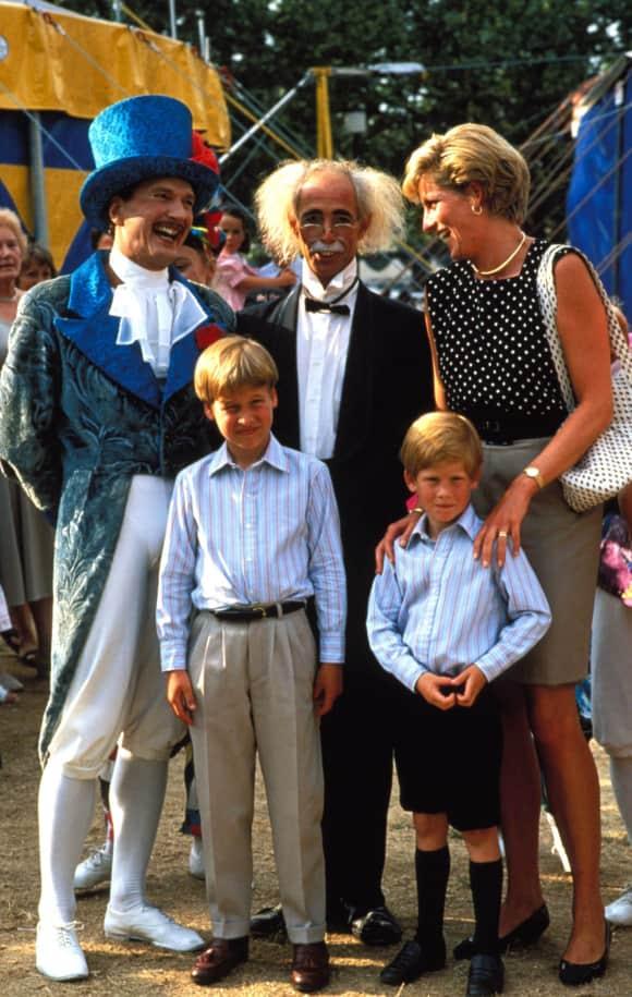 Prince William Prince Harry Princess Diana