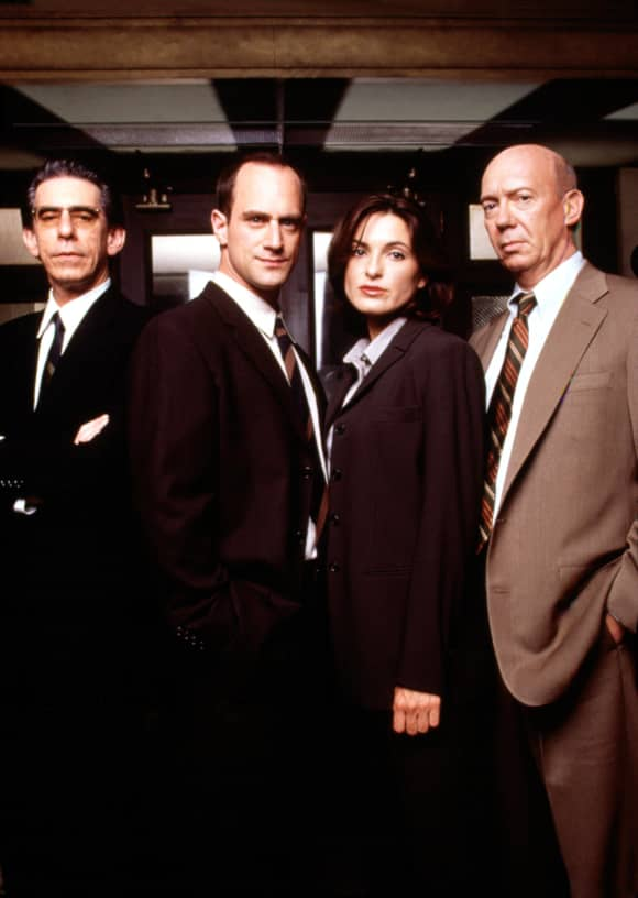 'Law & Order: SVU': This Was The Season 1 Cast 'Special Victims Unit' Christopher Meloni Mariska Hargitay Richard Belzer Dann Florek