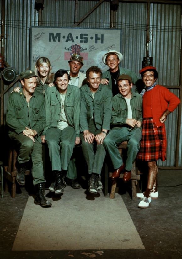 The cast of 'M.A.S.H.'