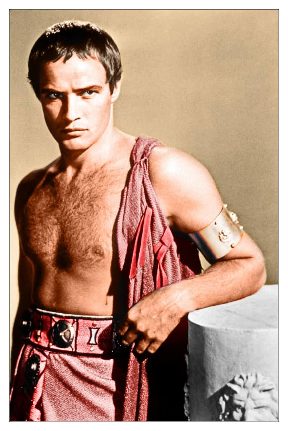 Marlon Brando 'Julio César' 1953