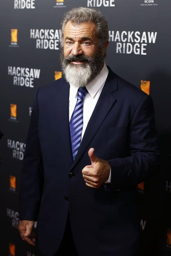 Mel Gibson with a full-grown beard.