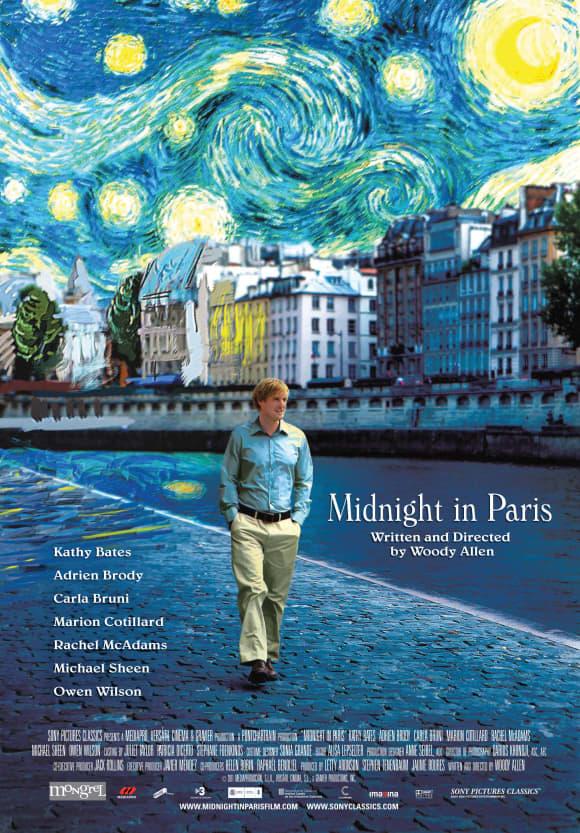 'Midnight In Paris' Owen Wilson
