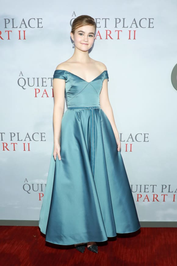 "Millicent Simmonds attends ""A Quiet Place Part II"" World Premiere at Rose Theater."
