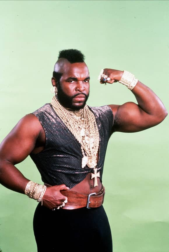 """Bosco 'B.A. Baracus"" Mr. T"