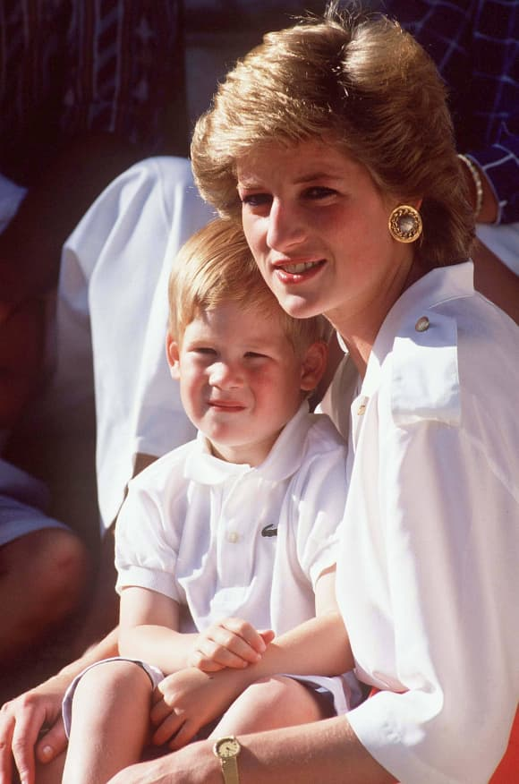 Princess Diana (†36): Pictures From Her Private Photo Album Prince Harry
