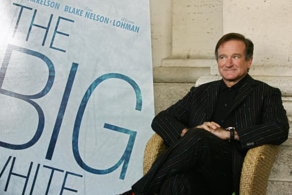 Robin Williams in 2005
