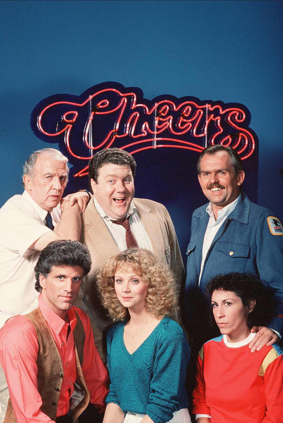 The cast of 'Cheers'