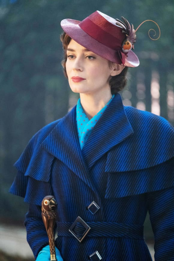 Emily Blunt in 'Mary Poppins' 2018