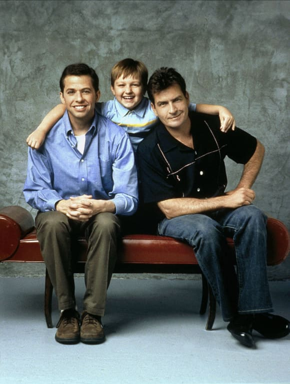 'Two and a Half Men': The Best Guest Stars Charlie Sheen Jon Cryer Angus T Jones
