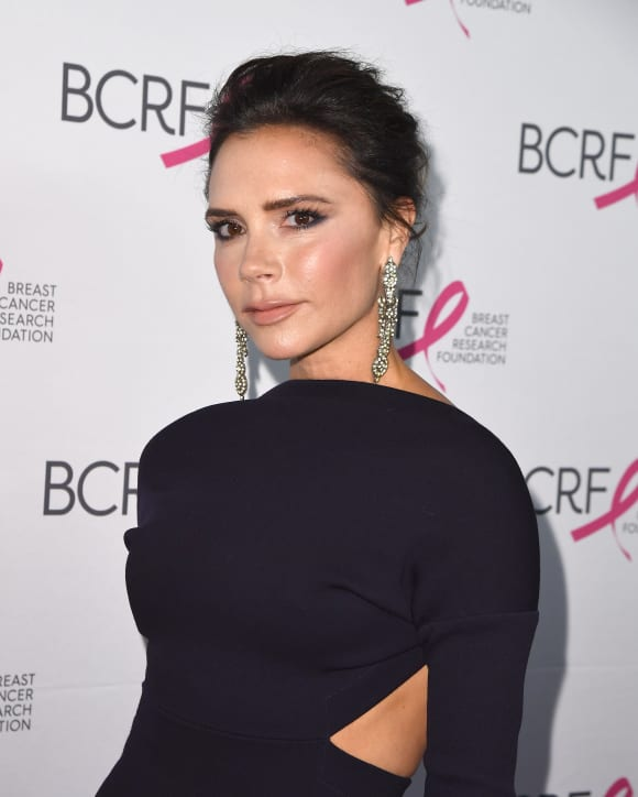 Victoria Beckham attends The Breast Cancer Research Foundation's 2017 Hot Pink Party at the Park Avenue Armory on May 12, 2017 in New York City