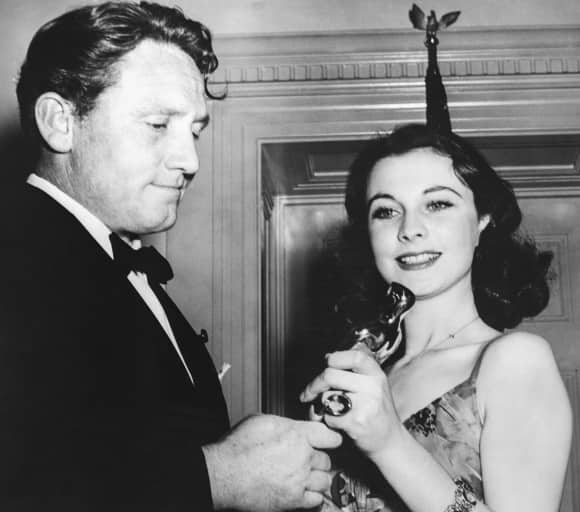 """Vivien Leigh won an Oscar for """"Gone With The Wind"""""""