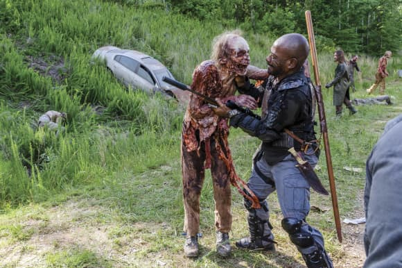 """Lennie James"" from The Walking Dead"