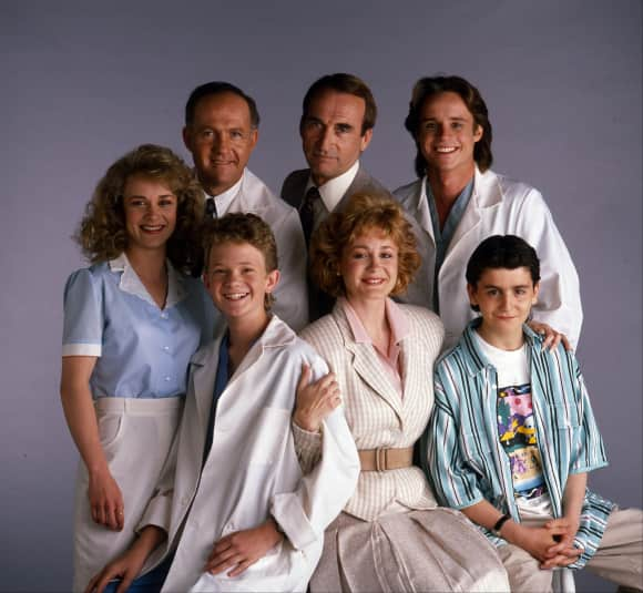 "The ""Doogie Howser"" Cast"