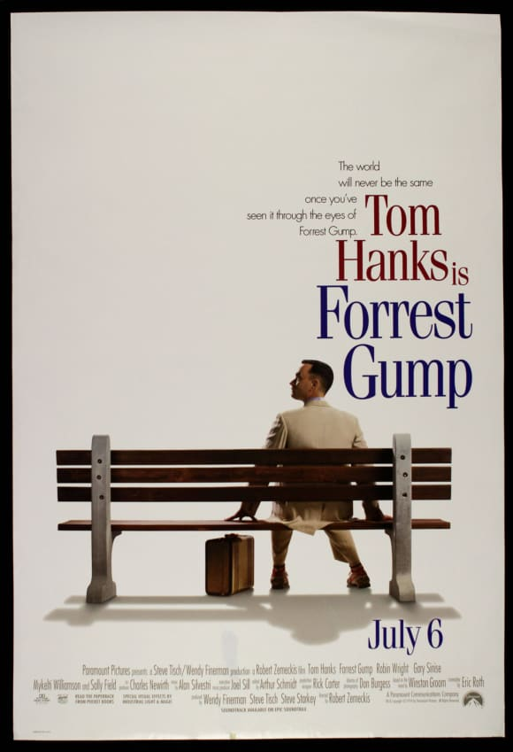 'Forrest Gump' cast: Then and now