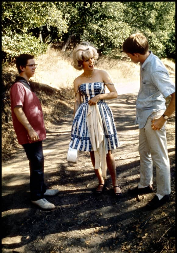 Charles Martin Smith, Candy Clark and Ron Howard in 'American Graffiti' (1973).