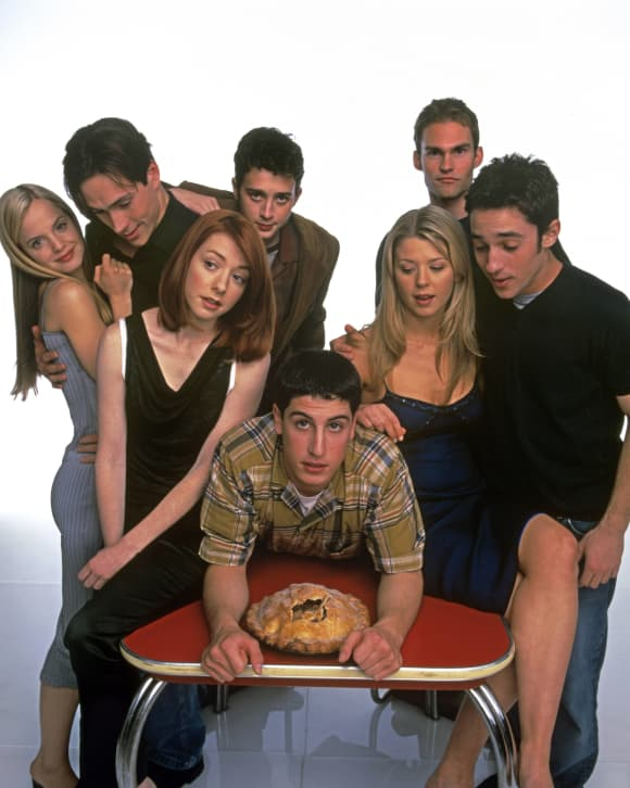 The Cast of 'American Pie'.