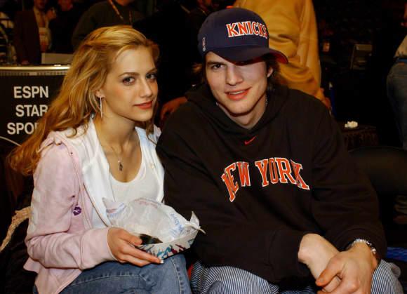 Ashton Kutcher y Brittany Murphy