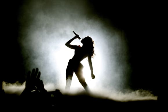Beyoncé Knowles at the Berlin O2 World on 05.03.2020.