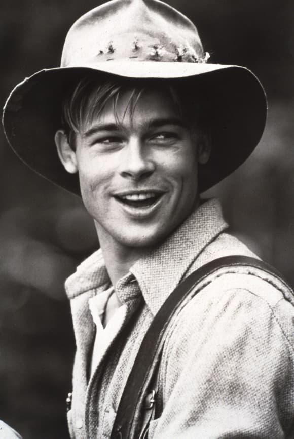 Brad Pitt en 'Un río lo atraviesa'