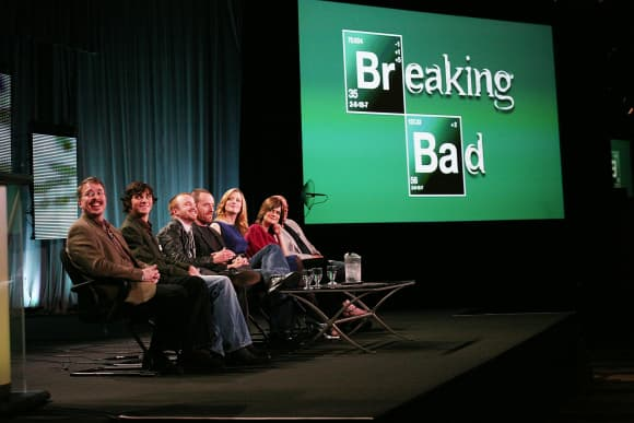 Actores de 'Breaking Bad'