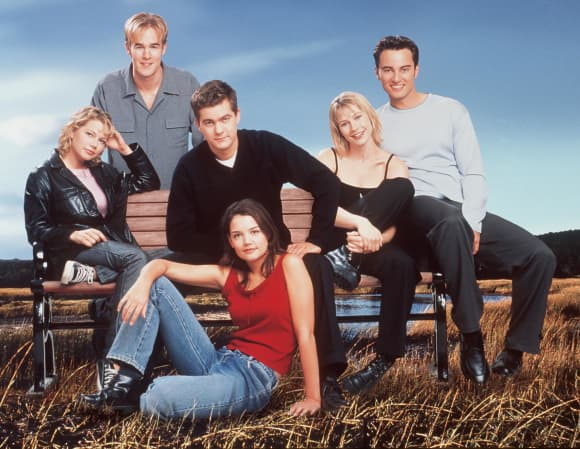 The cast of 'Dawson's Creek'.