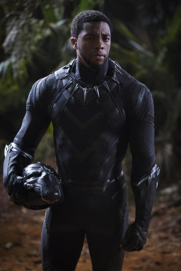Chadwick Boseman en una escena de la película 'Black Panther'
