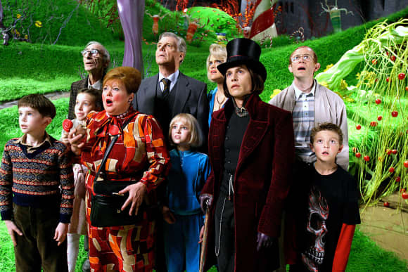 The Charlie and the Chocolate Factory' Cast