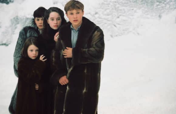 Georgie Henley, Skandar Keynes, Anna Popplewell y William Moseley en 'Las crónicas de Narnia'.
