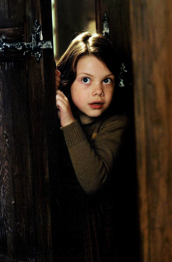 """Georgie Henley played """"Lucy Pevensie"""" in 'The Chronicles of Narnia'"""