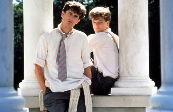 Colin Firth y Rupert Everett en 'Another Country'