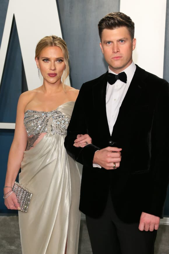 Colin Jost And Scarlett Johansson Are Unsure When To Marry
