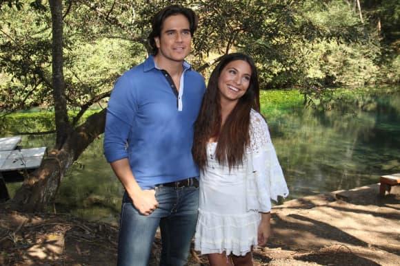 Daniel Arenas y Ana Brenda Contreras en 2013