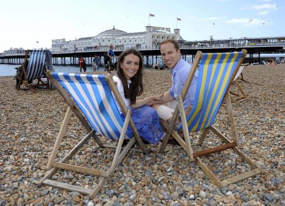 Los dobles del príncipe William y la duquesa Kate