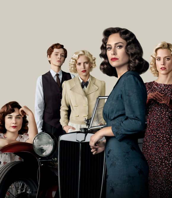 'Cable Girls' cast in real life