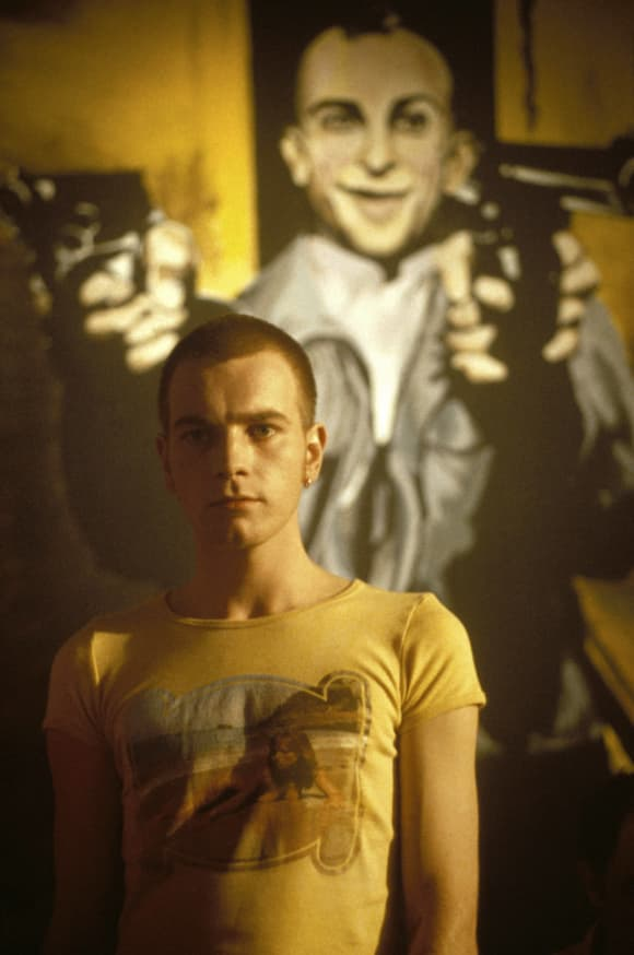 Ewan McGregor in 'Trainspotting'.