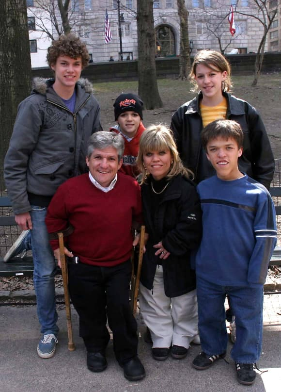La familia Roloff de 'Un gran mundo pequeño'