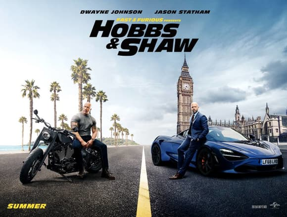 'Hobbs & Shaw' was released on August 2 2019.