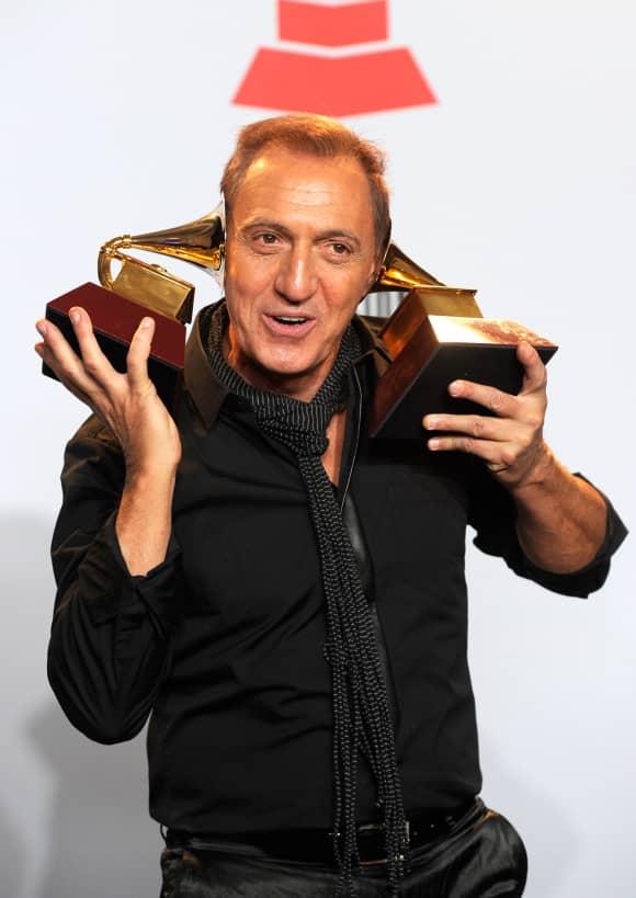 Franco de Vita en los Latin Grammy de 2011