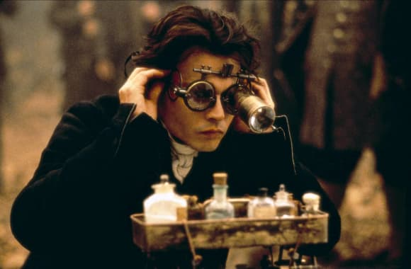 Johnny Depp es Ichabod Crane en 'Sleepy Hollow'