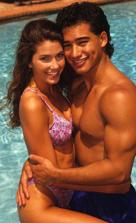 Mario Lopez y Ali Landry.