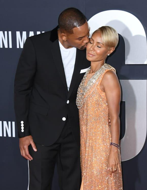 Jada Pinkett admite a su esposo Will Smith que tenía otro amante