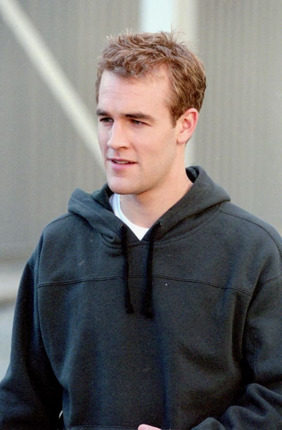 "James Van Der Beek as ""Dawson Leery"" in 'Dawson's Creek'."