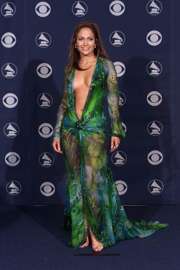 Jennifer Lopez en 2000 en ese vestido de Versace