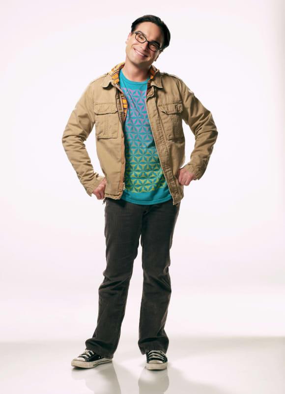 Johnny Galecki en una imagen promocional de la serie 'The Big Bang Theory'