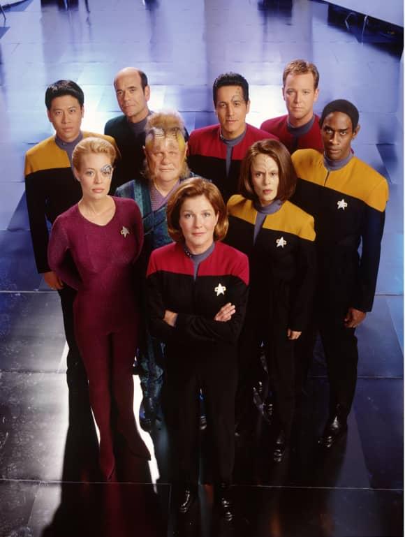 The cast of 'Star Trek: Voyager'