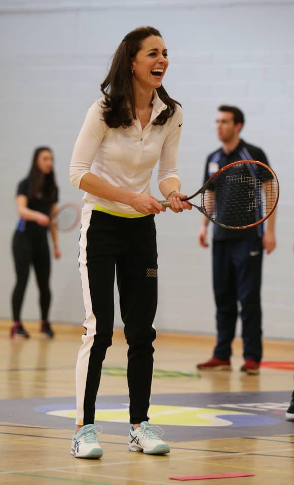 Duchess Kate at Craigmount High School