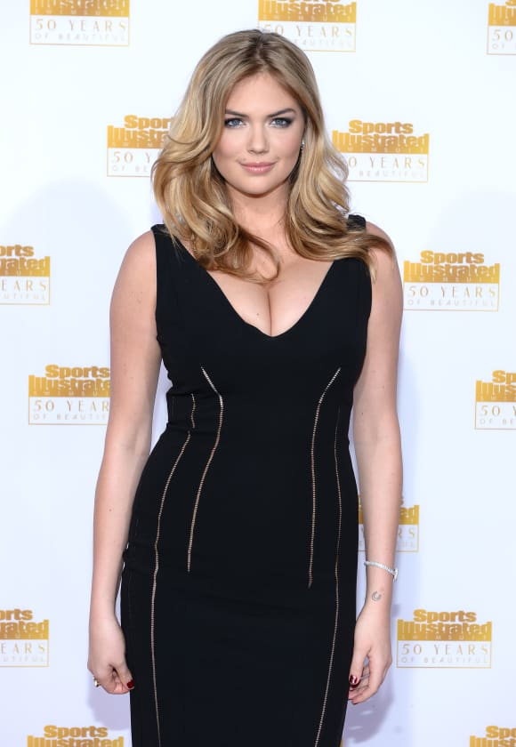 Kate Upton attends NBC and Time Inc. celebrate the 50th anniversary of the Sports Illustrated Swimsuit Issue at Dolby Theatre on January 14, 2014