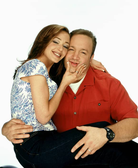 "Leah Remini and Kevin James: ""Carrie"" and ""Doug"" in 'The King of Queens'"